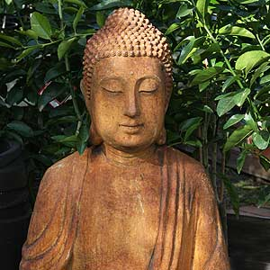 Buddah Statue as Garden Ornament