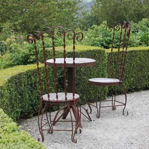 Iron and Timber Garden Furniture