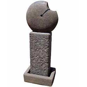 Ornamental basalt sculpture